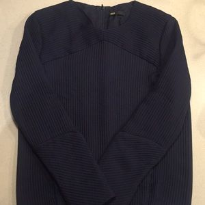 Maje Navy soft Ribbed top